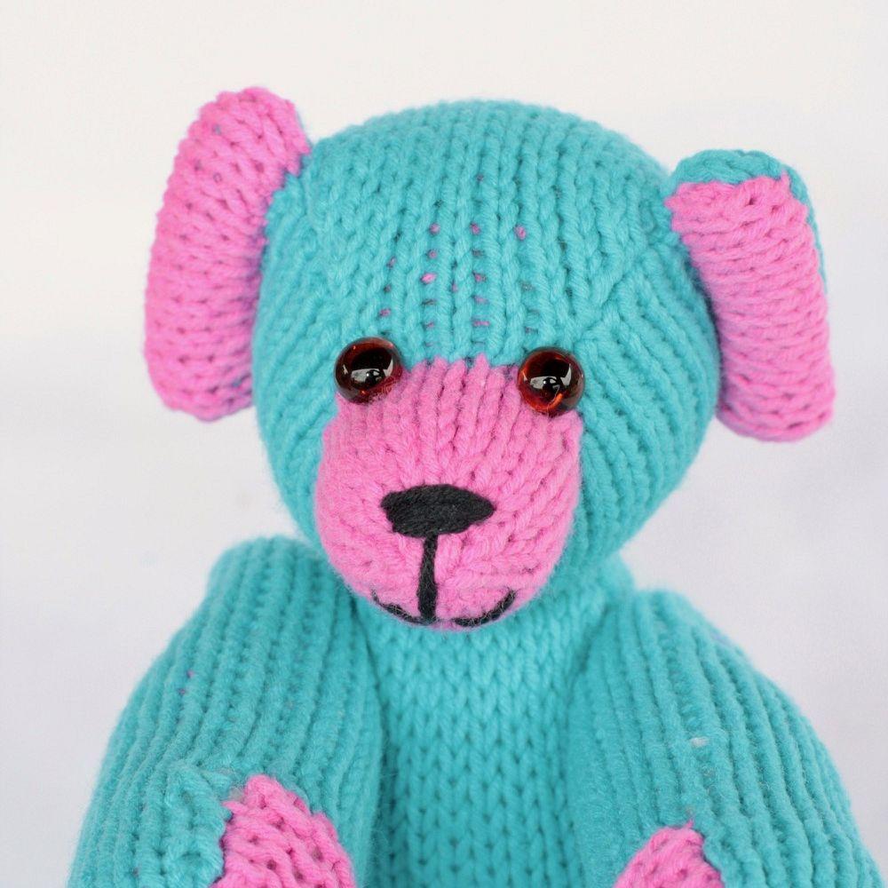 Xaver - Teddybär mit beweglichen Armen und Beinen