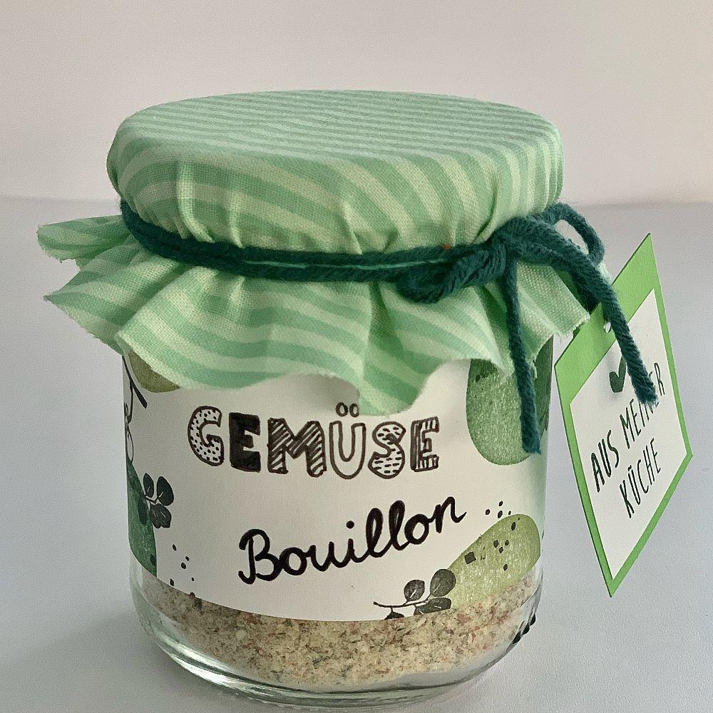 Gemüse-Bouillon - Hausgemachte Würzbouillon ohne Zusatzstoffe